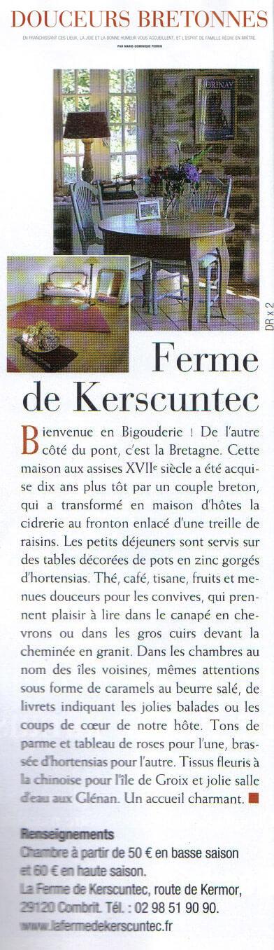 la ferme de kerscuntec douceurs bretonnes