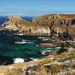 Pointe du Van près du Cap Sizun sentier falaises rocher mer océan atlantique
