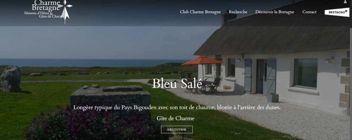 Site web de Charme Bretagne