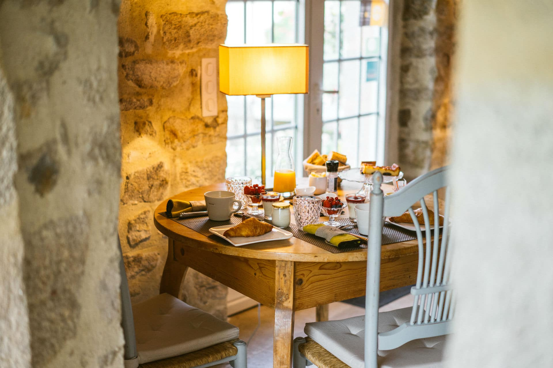 Gourmet breakfasts – Cottage near Bénodet The Farm from Kerscuntec